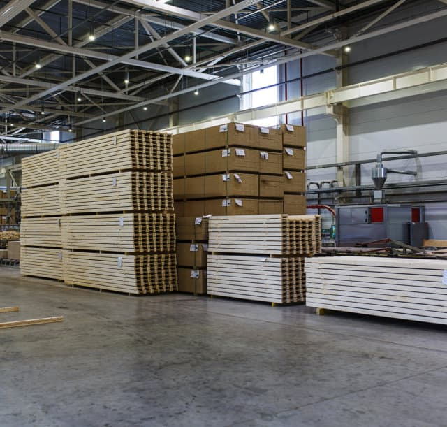 Modern production and storage room